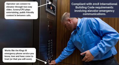 Elevator Video Communication for 2018 IBC Code Update